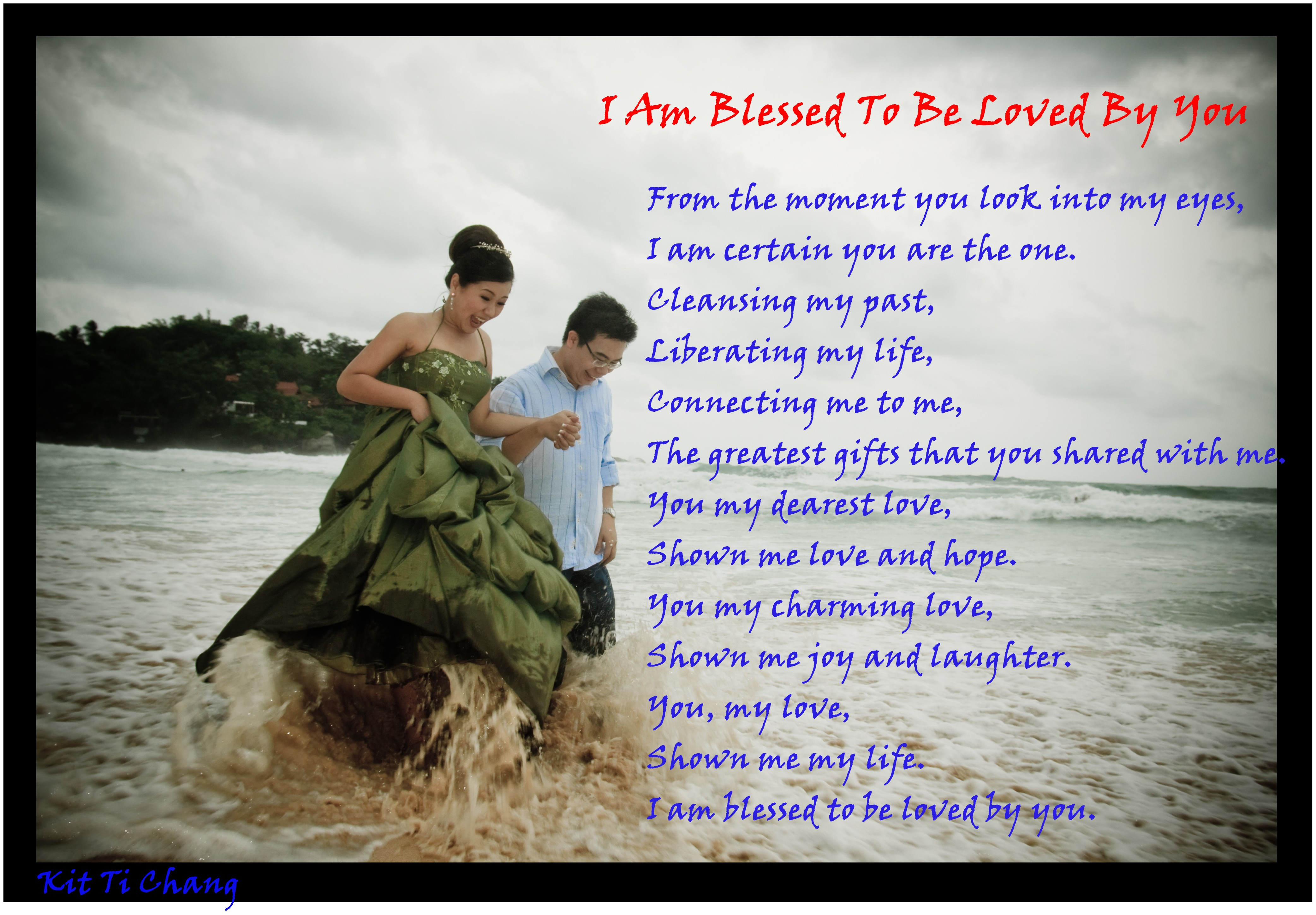 I Am Blessed To Have You I am Blessed to be Lov...